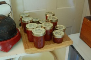6 pints of Plum Jam